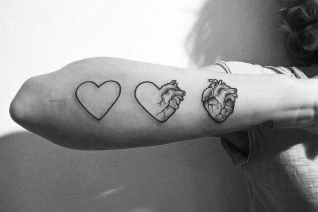 Правильные сердечки