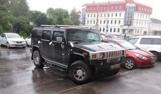 Hummer задолги покредиту арестован ужителя Нижнего Тагила