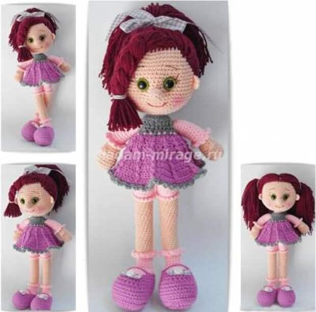 Вяжем куколку Candy Doll крючком