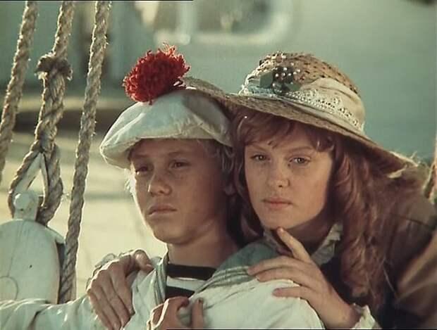 Экранизации добавили книгам Жюля Верна популярности. Кадр из советского фильма *Дети капитана Гранта*.