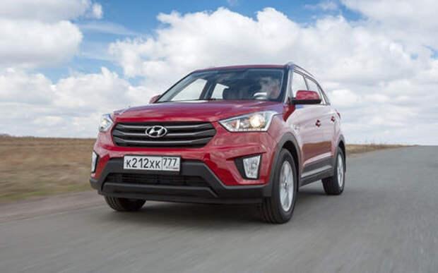 Hyundai сделал лимитированную серию кроссовера Creta. Только для России!