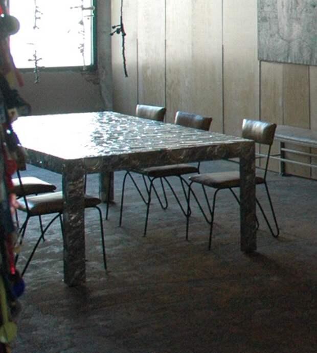 мебель из консервных банок