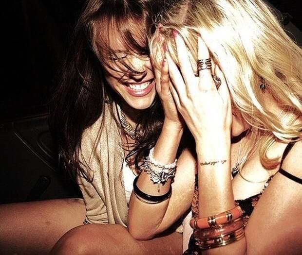Этот смех среди ночи... Улыбнемся))