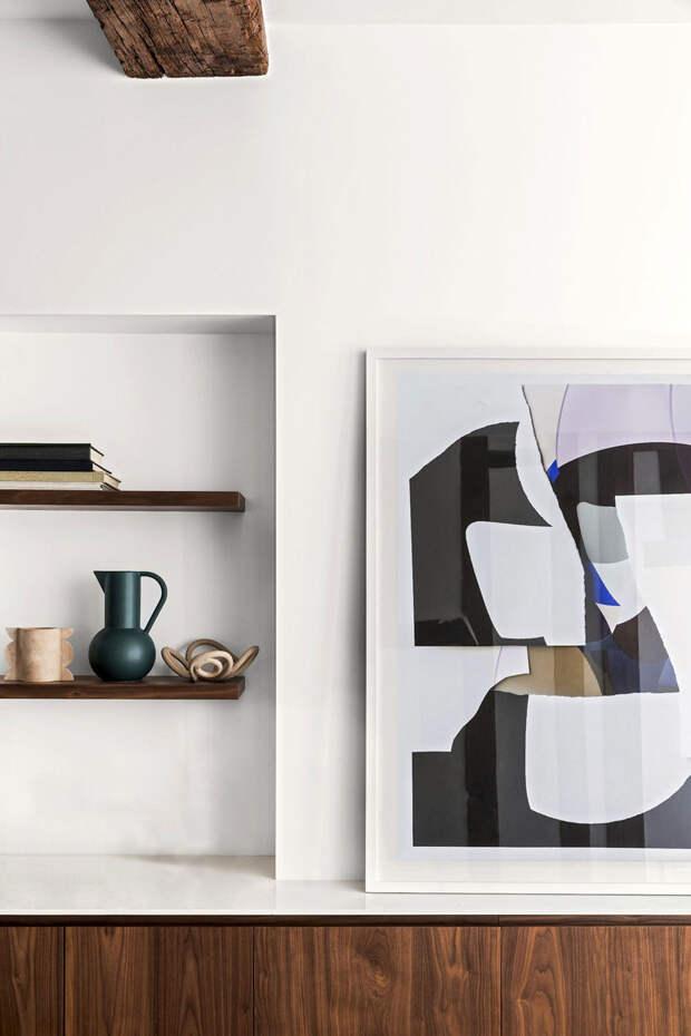 Небольшая квартира с интересными дизайнерскими решениями в Париже (45 кв.м)