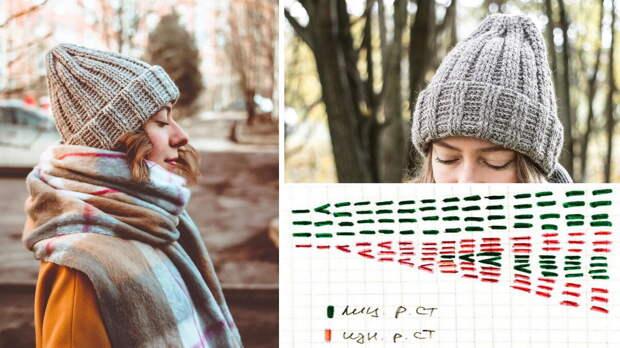 7 схем головных уборов: модные шапки и береты для нынешней осени, которые можно связать за пару вечеров либо за один выходной