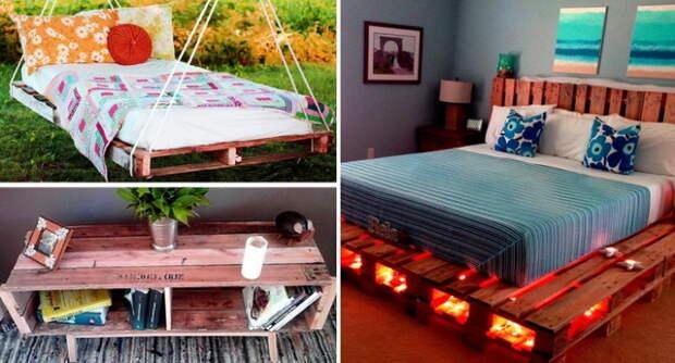 5 крутых идей дачной мебели, которую можно сделать своими руками
