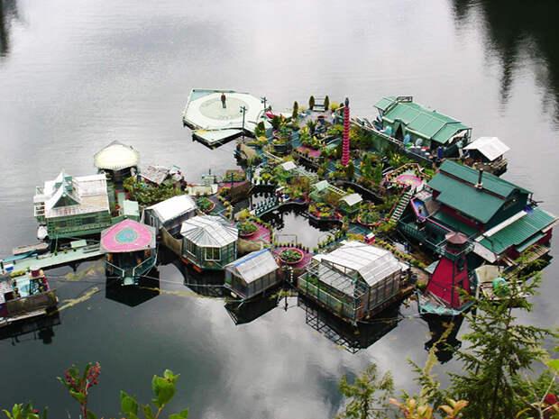 Плавучий остров своей мечты
