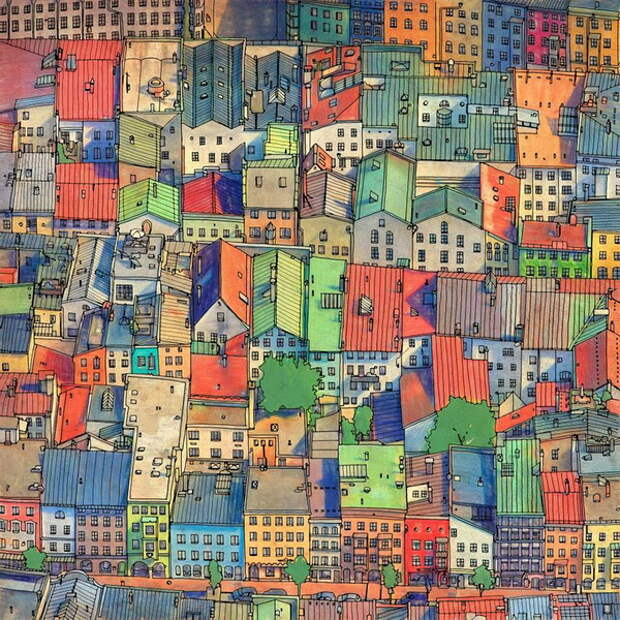 coloring-book-adults-fantastic-cities-steve-mcdonald-19