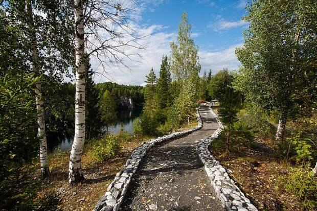 Горный парк Карелии