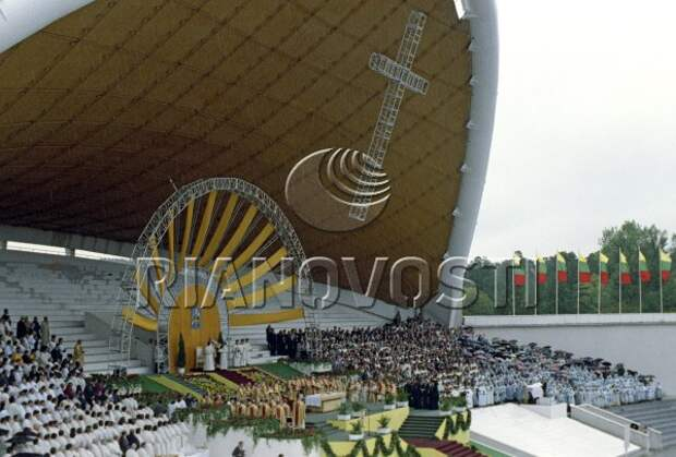 Визит Иоанна Павла II в Литву. 1993 г.