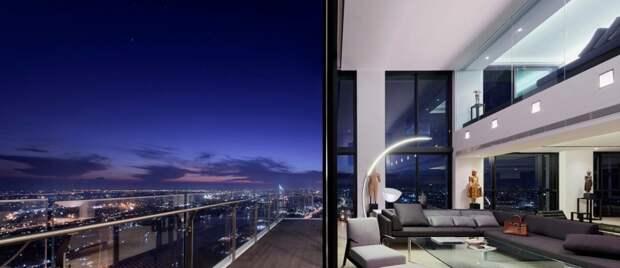 Трёхэтажный пентхаус в небоскрёбе Бангкока