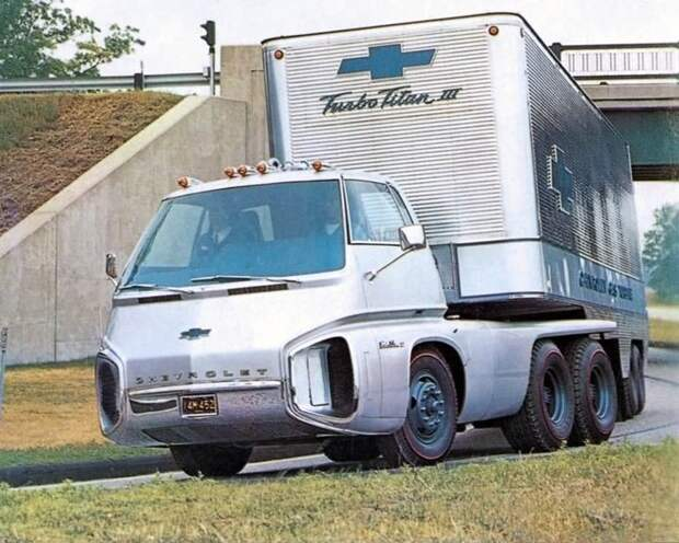 Turbo Titan III Turbo Titan III, chevrolet, авто, грузовик, концепт, тягач