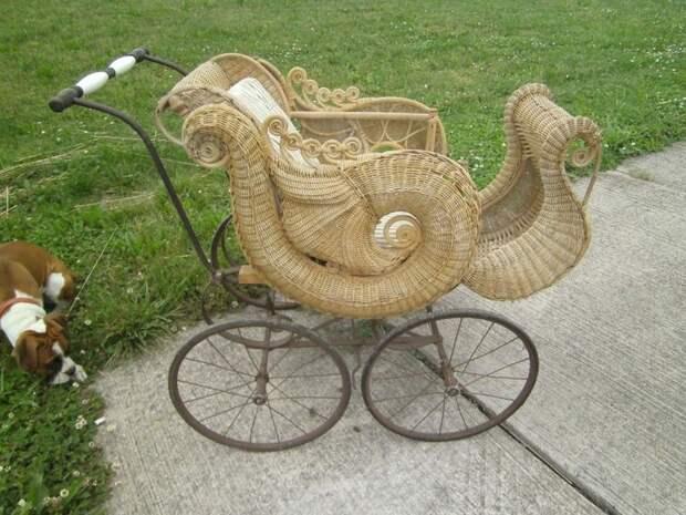 6. В викторианском стиле. детские коляски, креатив, родители