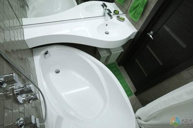 Ванна и раковина, сантехника Цвет и стиль