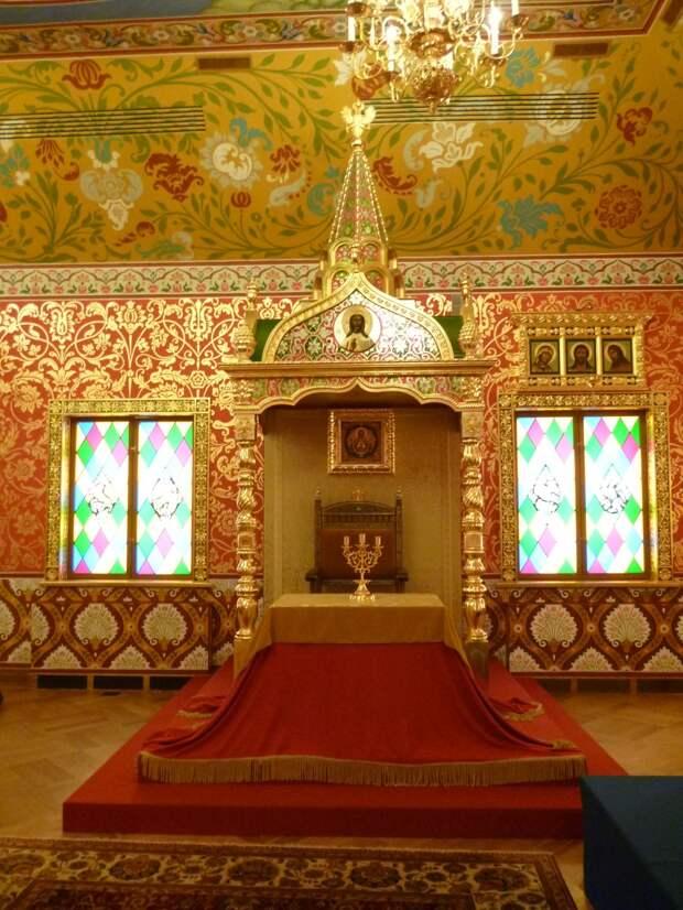 Прогулка по Коломенскому. Часть 5. Дворец царя Алексея Михайловича-2. Царские покои