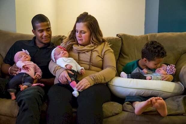 Когда она забеременела тройняшками, врачи обнаружили нечто удивительное!