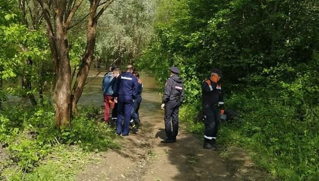 Молодой человек утонул в реке Моча в Подольске