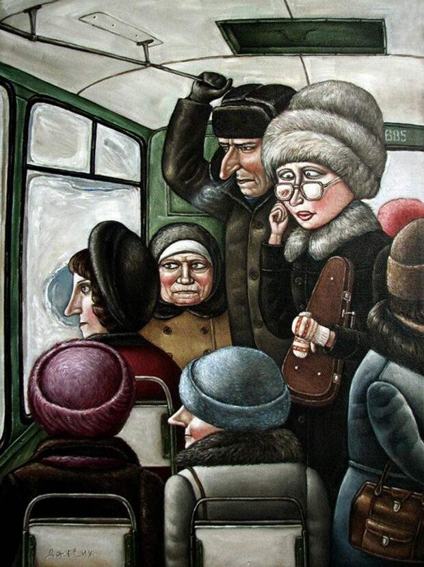 AngelaJerich02 Путешествие в СССР: картины художницы Анжелы Джерих