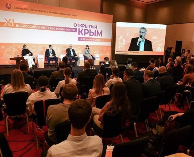Всероссийский туристский форум «Открытый Крым»: видео