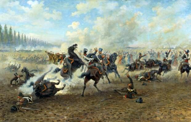 Подвиг гусарского отряда Александра Граббе