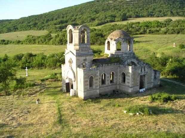 Лаки - крымская Хатынь крым, отдых, природа