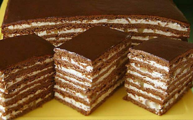 Рецепт потрясающе вкусного торта «Спартак»