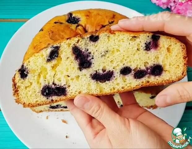 Нереально ВКУСНЫЙ пирог с ЯГОДАМИ