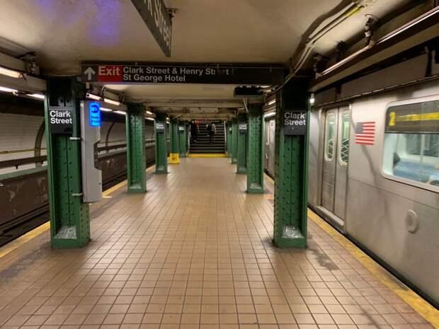 Станция метро в Нью-Йорке