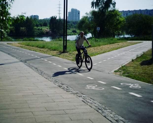 Велодорожка/пресс-служба ландшафтного парка «Митино»