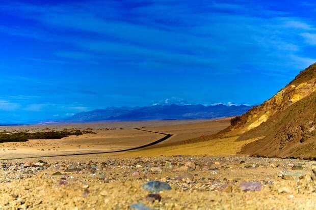 Долина Смерти (США), самое жаркое место в Северной Америке. Фото