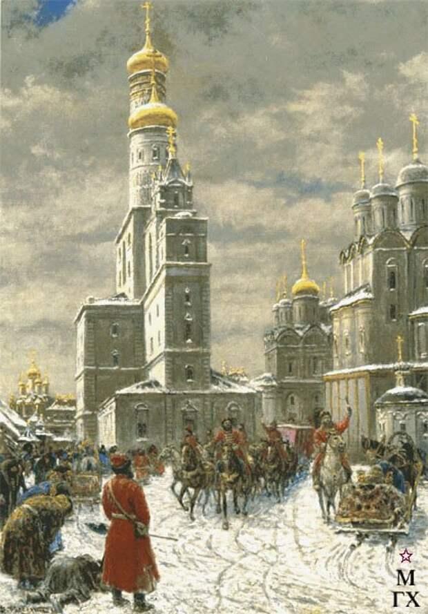 Стародавняя Россия в картинах В. П. Рассохина.