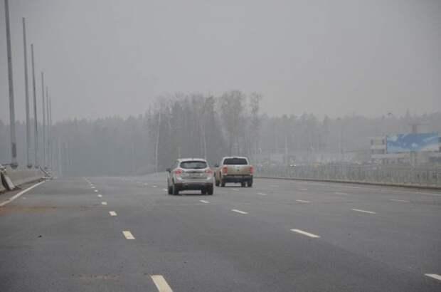 Первый участок трассы М-11 в районе аэропорта Шереметьево