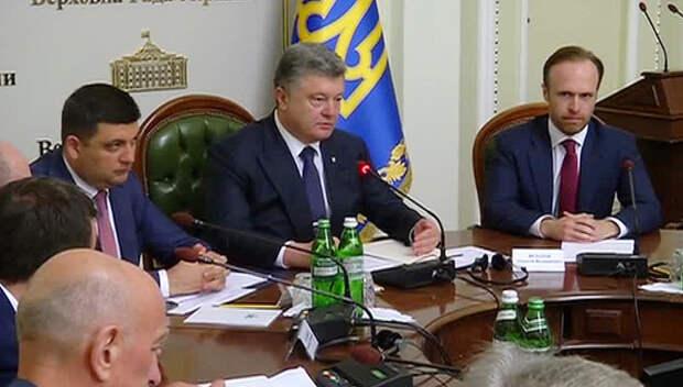 Власти Украины выдали новую порцию политических и экономических прожектов