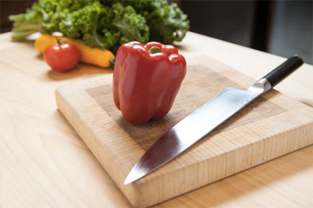 Как орудовать ножом шефа