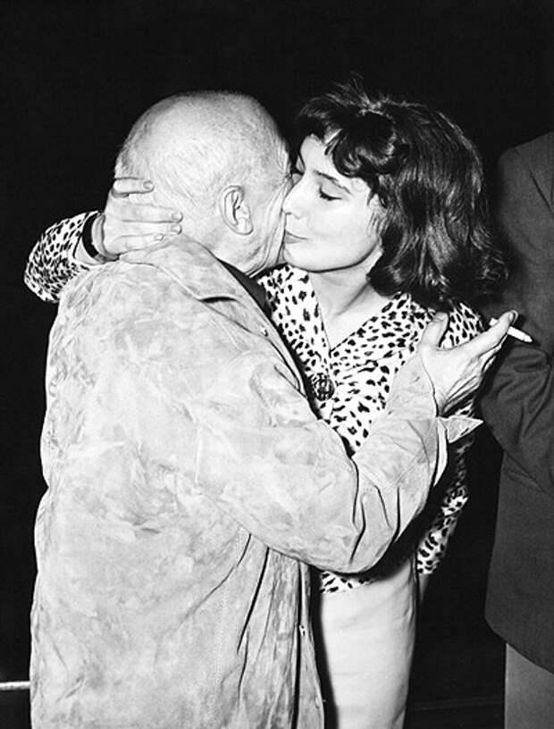 Пабло Пикассо и Татьяна Самойлова (1958)