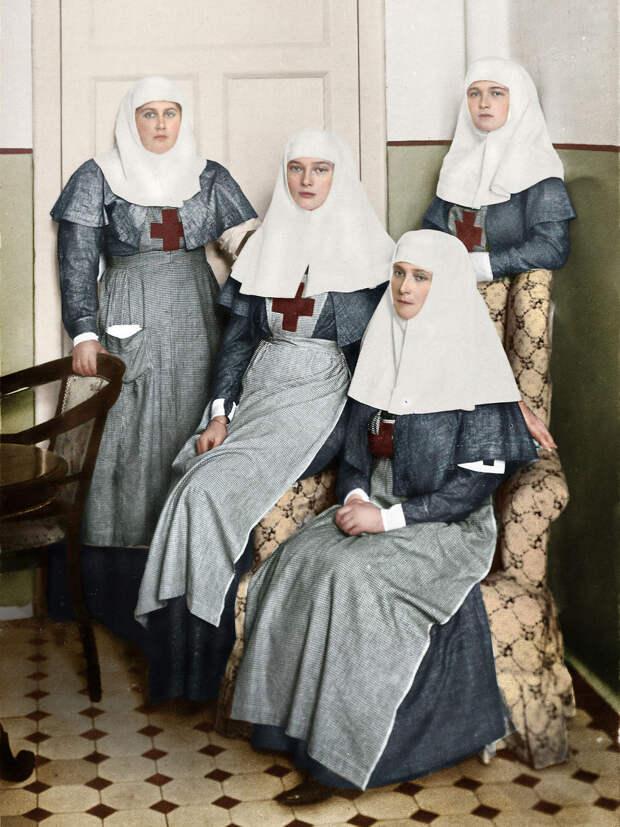 11 раскрашенных исторических фотографий о русских людях (1900-1965)