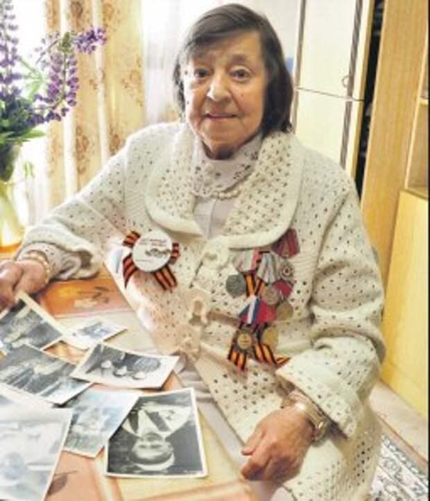 Александра Акимова из Северного Тушина вспомнила военное детство