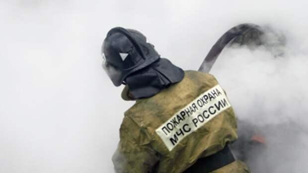 Нежилой дом полностью сгорел в Татарстане