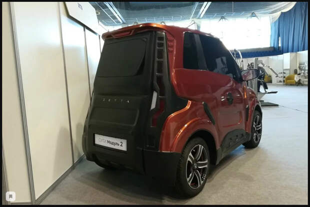Российский электромобиль Zetta появится к концу года по смешной цене