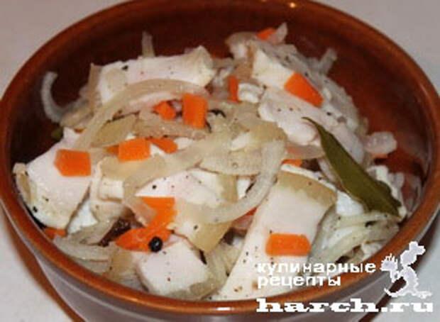 salo marinovanoe s lukom i chesnokom 51 Сало, маринованное с луком и чесноком по закарпатски