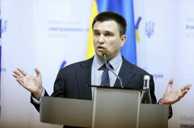 Бывший глава МИД Украины Климкин заявил, что страна попала в «геополитическую мясорубку»