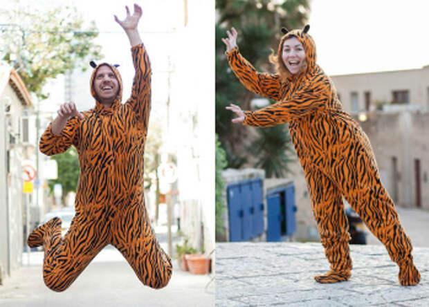 В тигровой шкуре