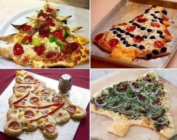 Пицца в новогодние праздники