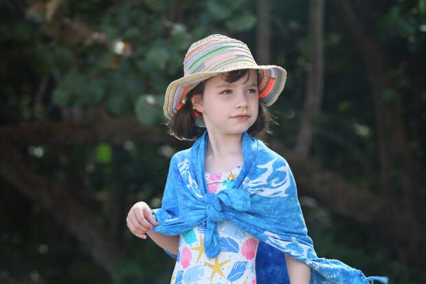 Как путешествие по джунглям помогло восьмилетней художнице с аутизмом