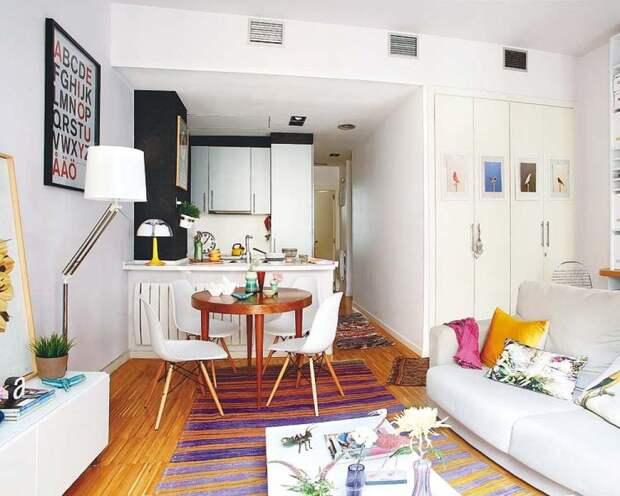 Грамотно обустроенная малогабаритная квартира - это удобное и комфортное место жительства