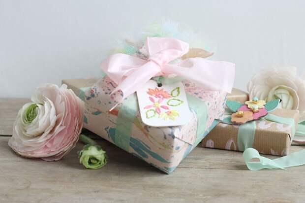 Очень красивая упаковка подарков (Diy)