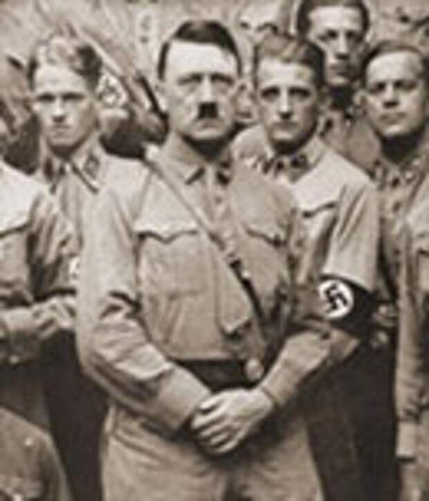 Фотография Гитлера с соратниками