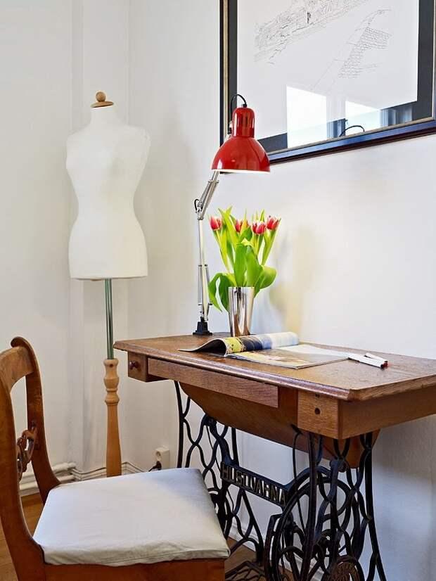 Мебель из швейных машинок