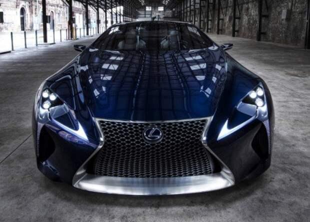 Концепт Lexus LC-LF