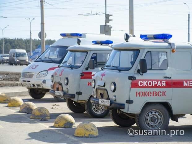 Страховые выплатят медикам и водителям «скорых» в Удмуртии в случае заражения коронавирусом
